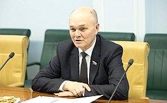 М.Щетинин иглава РосрыбколхозсоюзаБ.Блажко обсудили меры поддержки отрасли