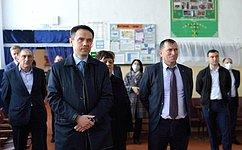 М. Хапсироков посетил Красногвардейский район Республики Адыгея