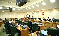 Профильный комитет СФ рекомендовал одобрить ряд законов, направленных нареализацию поправок кКонституции России