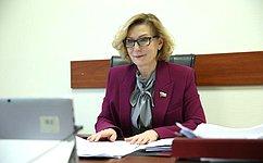 Комитет СФ посоциальной политике готов включиться вразработку нового законопроекта отуристской деятельности– И.Святенко