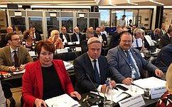 О.Мельниченко иЕ.Перминова приняли участие вмероприятии Конгресса местных ирегиональных властей Совета Европы вНорвегии