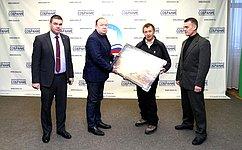 В.Лаптев продолжил совместную работу поподготовке проекта Эверест– 2018