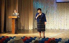 Л.Козлова поздравила медицинских работников Смоленской области спрофессиональным праздником
