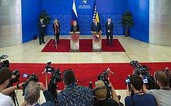 Официальный визит Делегации Совета Федерации воглаве сВ.Матвиенко вБоснию иГерцеговину