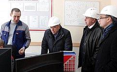 О. Пантелеев посетил новые предприятия Курганской области
