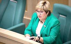 О. Хохлова приняла участие взаседании рабочей группы попарламентскому контролю заобеспечением бесплатным горячим питанием вобразовательных организациях