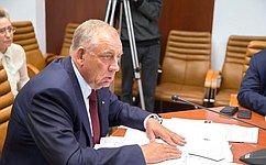 С. Митин провел совещание позаконопроекту вчасти расширения перечня общераспространенных полезных ископаемых