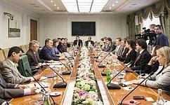 Ю. Воробьев выступил заразвитие сотрудничества молодежных организаций РФ иСША
