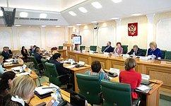 ВСовете Федерации прошло заседание Совета поразвитию социальных инноваций