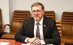 ВКомитете СФ помеждународным делам обсудили последствия изменения политики Запада всфере освоения космоса
