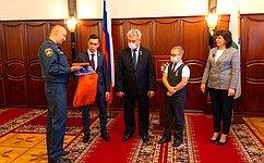 В. Бондарев: Детей, совершивших героический поступок, всегда отличает воспитание ичувство ответственности