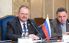 О. Мельниченко: Практически вовсех сферах экономики Россия иИндия находят почву для взаимовыгодного сотрудничества
