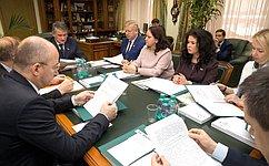Комиссия Совета Федерации поконтролю задостоверностью сведений одоходах провела проверку вотношении ряда сенаторов