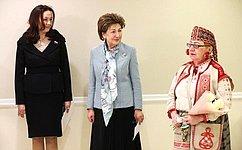 ВСовете Федерации открылась выставка изделий народного промысла Рязанской области «Михайловское кружево»
