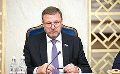 К. Косачев: Взаявлении Председателя Межпарламентского союза подтверждено, что Победа над нацизмом— общее наследие всего человечества