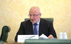 Профильный Комитет СФ рекомендовал палате назначить Ю.Глазова надолжность заместителя Председателя Верховного Суда