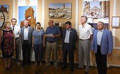 С. Цеков принял участие впрезентации выставки документальной фотографии «Сирия– возрождение. Пальмира»