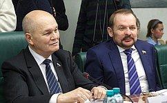 С.Белоусов: Задача парламента обеспечить международное сотрудничество ваграрной сфере хорошей законодательной базой