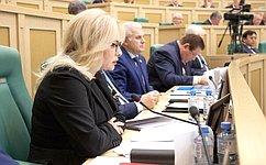 Сенаторы обсудили развитие ЖСК для многодетных семей исовершенствование государственной климатической политики