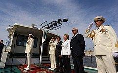 В. Матвиенко: Возрождение ВМФ обеспечит укрепление позиций России вМировом океане