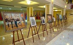 ВСовете Федерации проходит выставка Почетного члена Российской академии художеств П.Бойко