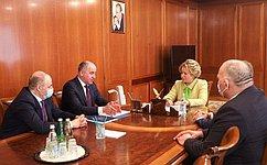 Председатель СФ провела встречу сГлавой Карачаево-Черкесской Республики