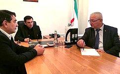 М.Дидигов: Формат единого дня приема граждан себя успешно зарекомендовал