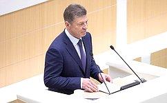 Д. Козак рассказал вСовете Федерации омерах поразвитию нефтегазовой отрасли исбалансированности цен натопливо