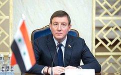 Andrei Turchak holds meeting with Syrian Ambassador toRussia Riad Haddad
