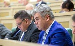 Председателем Комитета Совета Федерации пообороне ибезопасности стал В.Бондарев