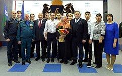М. Пономарев вг. Тюмени принял участие вторжественной церемонии награждения врамках Всероссийского гражданско-патриотического проекта «ДЕТИ-ГЕРОИ»