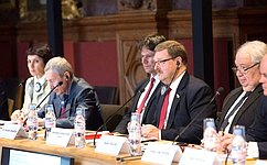 К.Косачев: Российско-французский доклад подает добрый пример конструктивного межпарламентского сотрудничества