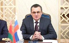 Н.Федоров: Локомотивом роста российско-белорусского сотрудничества является плодотворное межпарламентское взаимодействие