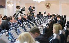 Комитет СФ помеждународным делам подвел итоги работы российской делегации насессии ПА ОБСЕ ирекомендовал принять Заявление палаты оситуации наУкраине