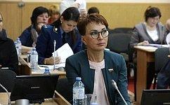 Т.Кусайко: Назаседании Мурманской областной Думы основное внимание было уделено законопроектам социальной направленности