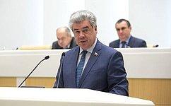 Сенаторы избрали А.Ракитина надолжность первого заместителя председателя Комитета СФ пообороне ибезопасности