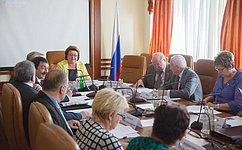 Профильный комитет СФ рассмотрел роль культуры вразвитии региона напримере Новосибирской области