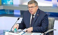 В.Рязанский подвел итоги работы Комитета СФ посоциальной политике загод