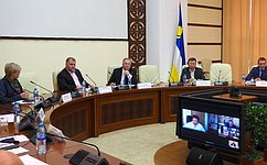 В. Наговицын вУлан-Удэ обсудил подготовку кДням Бурятии вСовете Федерации