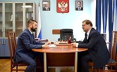 К. Косачев посетил Республику Марий Эл срабочей поездкой