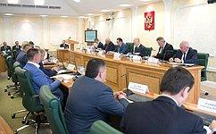 Первый заместитель Председателя СФ Н.Федоров провел заседание Совета повопросам АПК иприродопользования