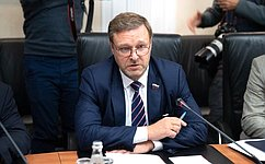 Konstantin Kosachev: We are willing towork together toestablish good relations with Georgia