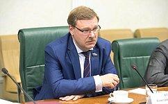 Межпарламентские связи России иАрмении развиваются системно ипоследовательно— К.Косачев