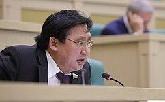 А. Акимов: Сенаторы готовят проект закона, улучшающего условия деятельности коренных малочисленных народов натерриториях традиционного природопользования