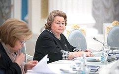 З. Драгункина: Все предложения членов Совета при Президенте пореализации госполитики всфере защиты семьи идетей будут учтены впредстоящей работе