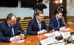 К.Косачев провел встречу сПрезидентом Приднестровья В.Красносельским