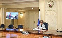 Г. Карелова приняла участие вТашкентском Форуме женщин-лидеров стран ШОС