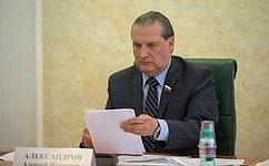 А.Александров принял участие впубличной дискуссии натему «Украинский кризис: правовые аспекты ивызовы для России»