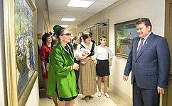 ВСовете Федерации открылась выставка художников Костромской области