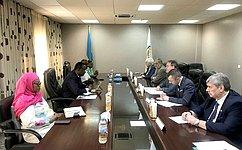 Делегация СФ посетила Республику Руанда для участия вмероприятиях, посвящённых 25-летней годовщине геноцида против тутси